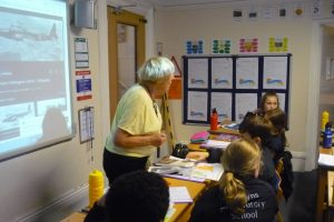 Classroom Visitor 3