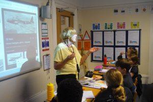 Classroom Visitor 4