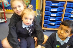 Helping out at Nursery break 1