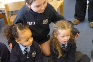 Helping out at Nursery break 2