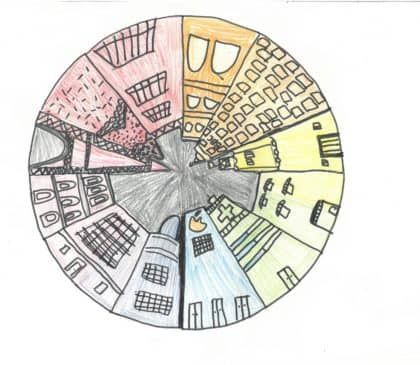 Year 6 'Pin Point Perspective' Pictures