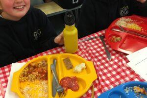 HG CB Spanish lunch