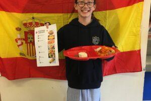 IS Spanish lunch menu