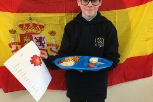 OH E Spanish day menu