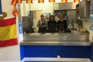 Spanish day cooks
