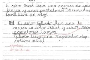 Spanish Work 4