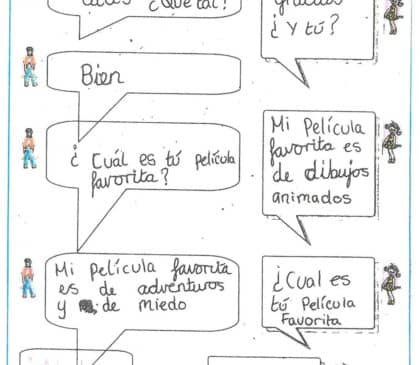 Year 6 Spanish Dialogues