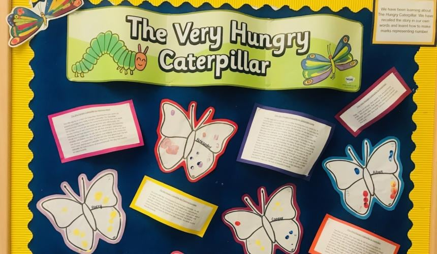 Our own Hungry Caterpillar Stories