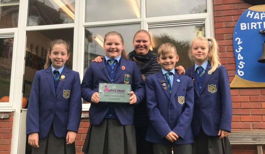Brabyns Awarded Millie's Mark
