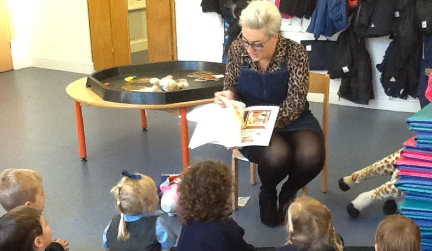 Special Visitors in Nursery