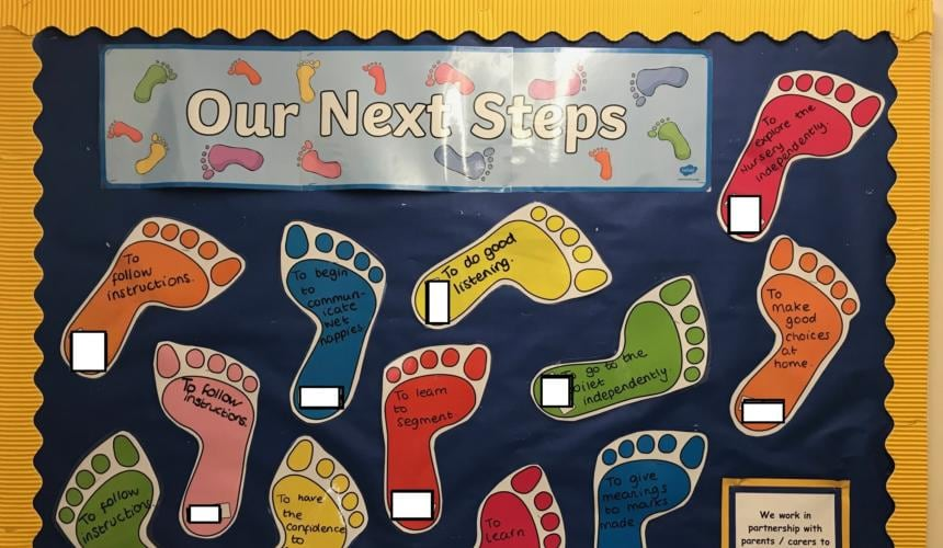 Achieving our Best in Nursery