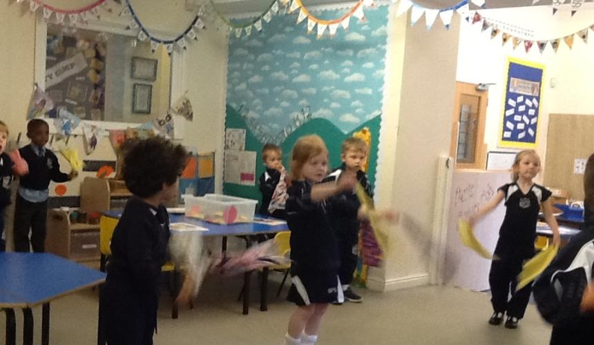 Reception Get Squiggling!