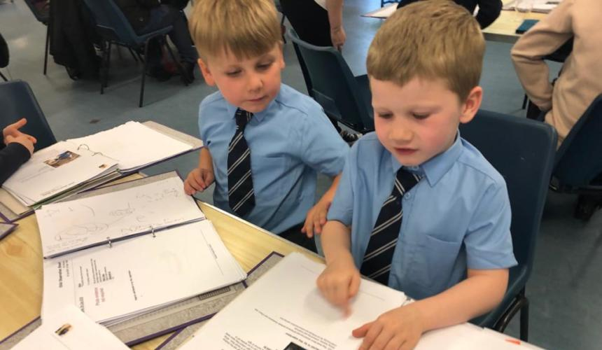 Reception Children Explain their Learning Journey