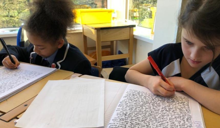 Year 3 Use 'Talk For Writing' to Support Their Learning