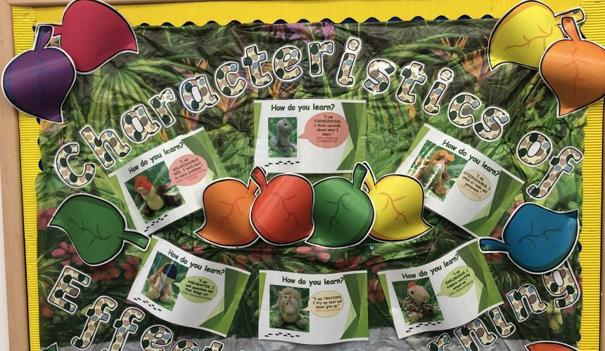 Nursery Achieve the Characteristics of Effective Learning