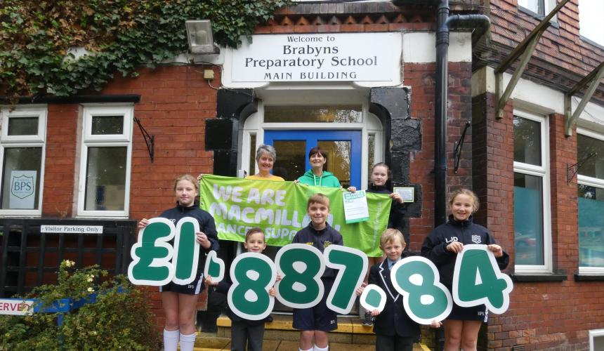 Our Macmillan Fundraising Total