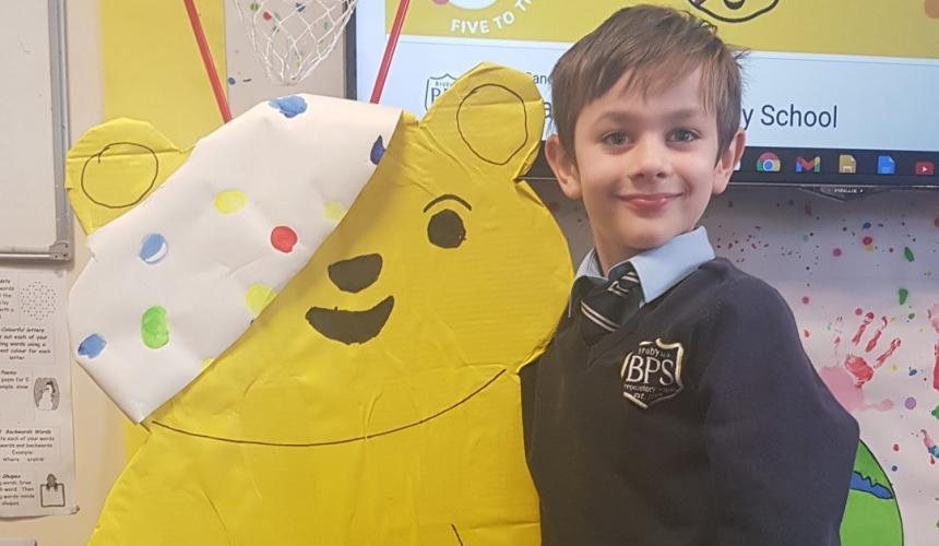 £1000 raised for Children in Need