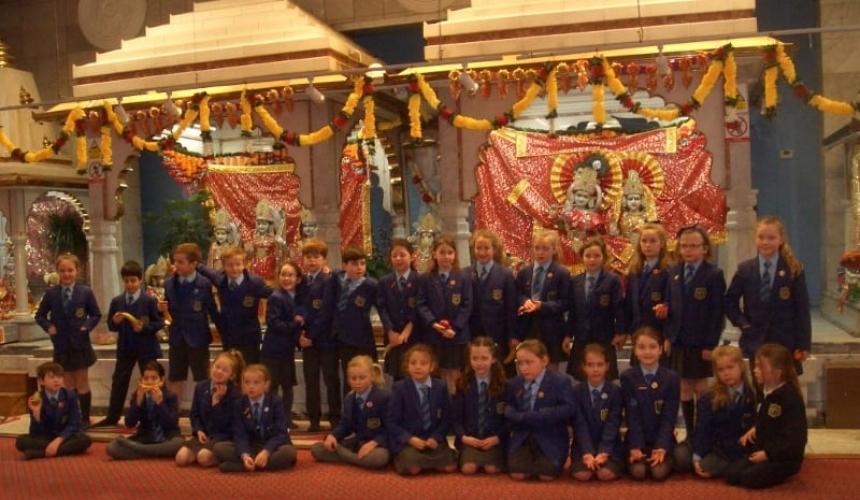 Hindu Temple Visit