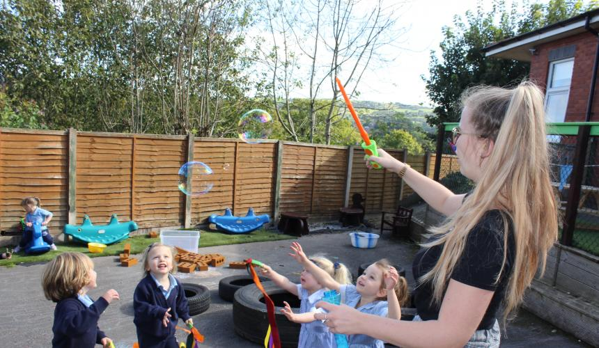 The Benefit of Outdoor Play