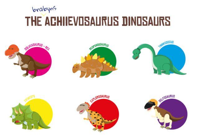The Brabyns Achievosaurus Dinosaurs