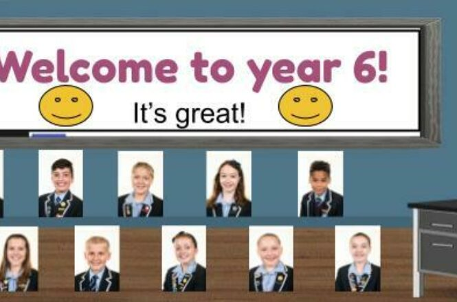 Year 6 - Poetry and Classroom banner