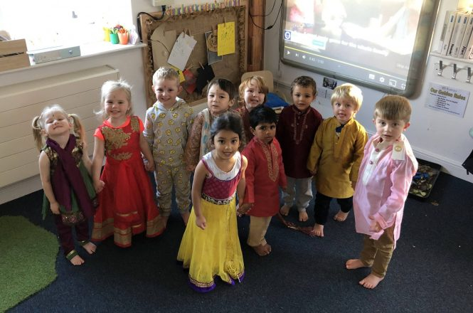 Happy Diwali from Kindergarten!