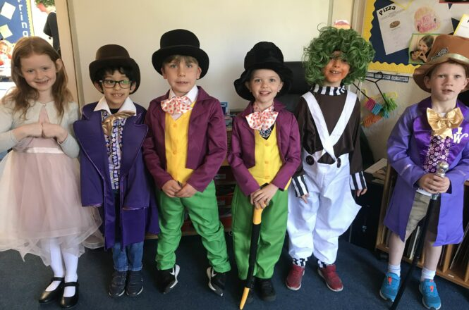 Year 2 Roald Dahl Day