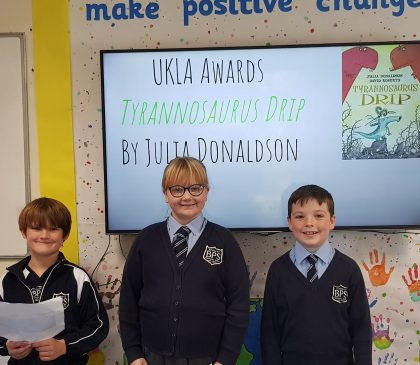 Year 4 vote in the UKLA Awards