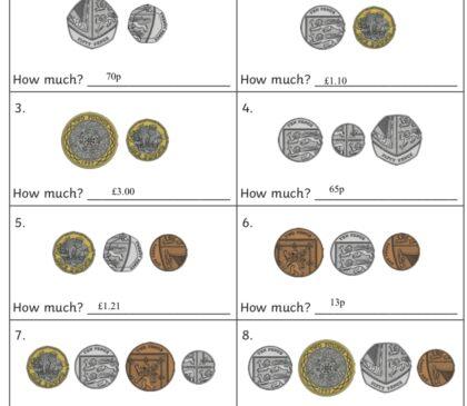 Year 2 - Maths & Money
