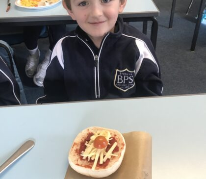 Year 2 Pizza Making in DT