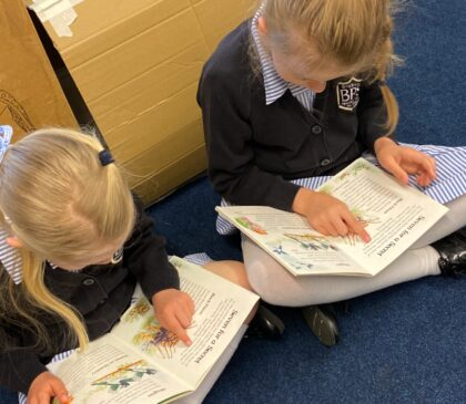 Discovering poetry with Year 1