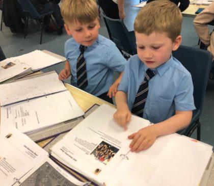 Reception Children Explain their Learning Journey