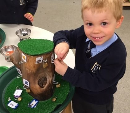 Reading and Writing in Reception
