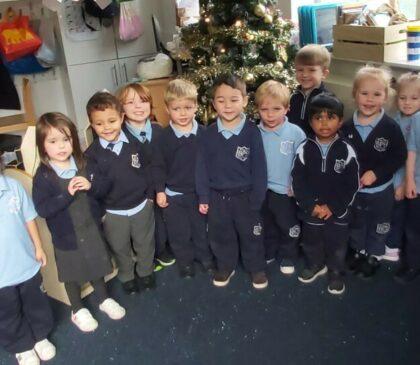 Kindergarten get Festive