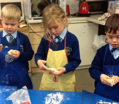 Reception Get Baking and Squiggling!